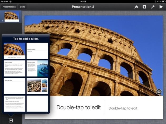 keynote iPad Presentation สร้างพรีเซนท์เทชั่น ด้วย Keynote